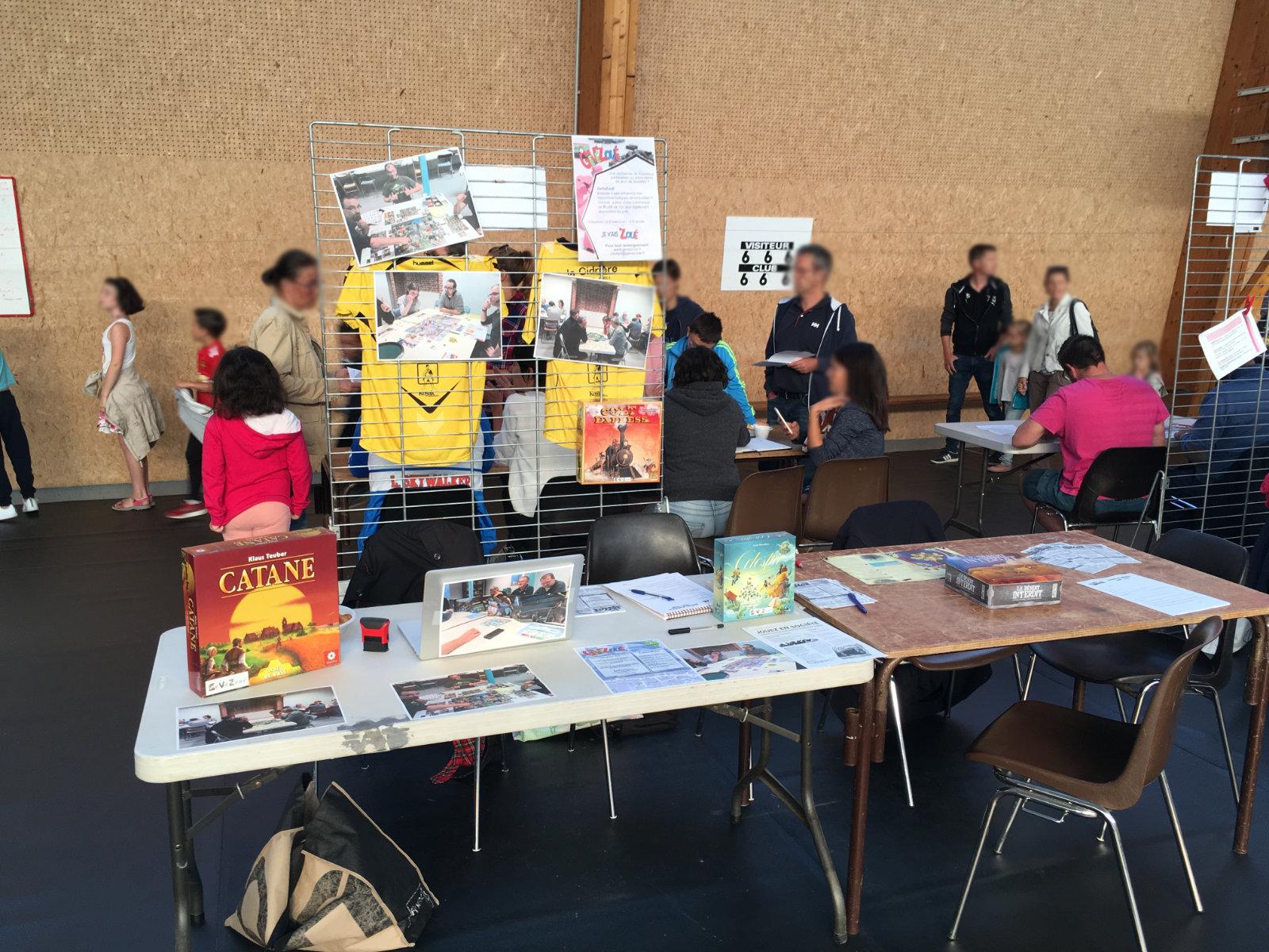 Forum des association le stand